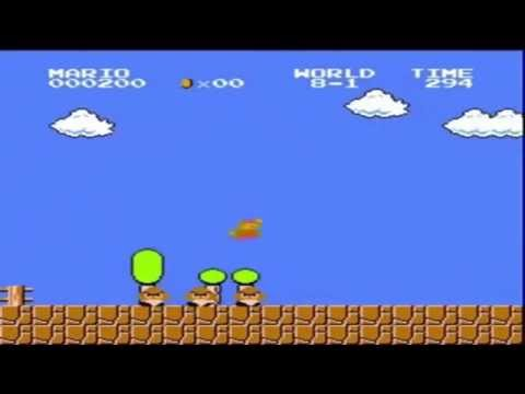 Super Mario Brothers 500 Point Run (видео)