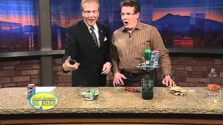 There are lots of different ways to crush a soda can... with your foot, in your hands, on your head. But nothing compares to the fun you'll have doing the so...