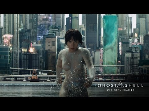 Ghost in the Shell Official Trailer