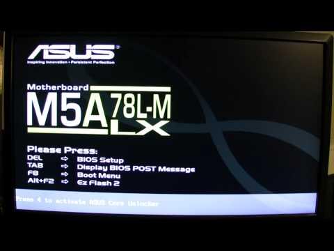 Updating Asus Motherboard BIOS