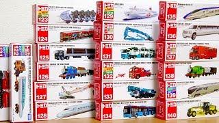 Video Tomica N0.121 - 140 | Thomas | Construction vehicle | Bullet train | Car carrier Longminicar MP3, 3GP, MP4, WEBM, AVI, FLV Maret 2019