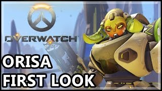 Overwatch Orisa Gameplay - Orisa First Look - Overwatch Gameplay, Blizzard Entertainment, World of Warcraft
