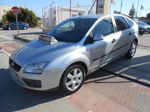 See video Ford FOCUS 1.6i AUTO TREND