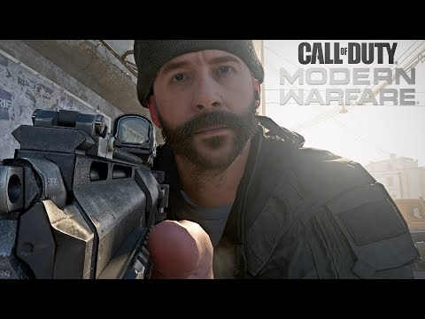 Call of Duty Modern Warfare - Captain Price's Chase Mission Gameplay Veteran