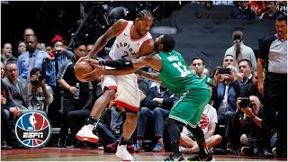 Kawhi Leonard leads Raptors in blowout win vs Celtics   NBA Highlights