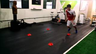 Hudson Santos, trabalho de preparação física antes da pré temporada do São Paulo Futebol Clube.