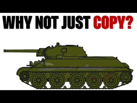Why didn't the Germans copy the T-34?