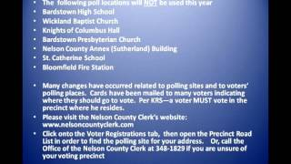 Nelson County Clerk Primary Election News Update