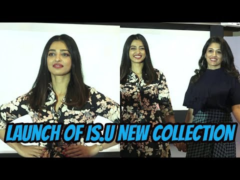Radhika Apte At The Launch Of IS.U New Collection