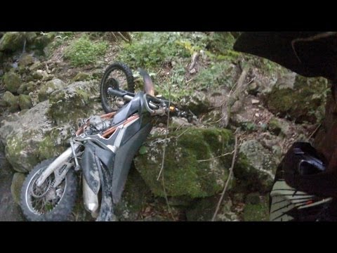 Destroyed in Seconds | KTM Freeride 350