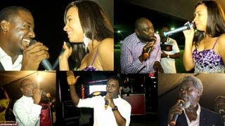 AY, Julius Agwu, Segun Arinze, Joseph Benjamin, sings for Ibinabo Fiberesima