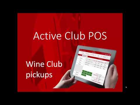Active Club iPad winery POS Demo