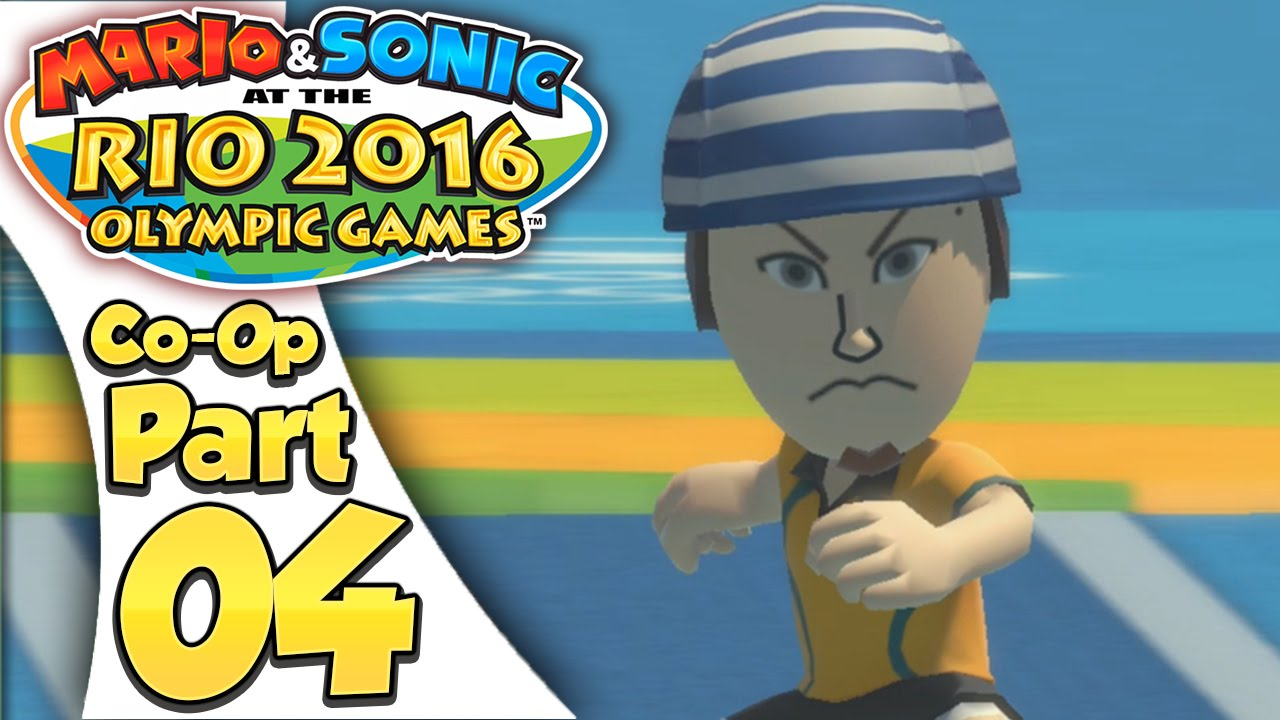 Mario & Sonic At The Rio 2016 Olympic Games – Co-Op Tournament Part 4 | Triple Jump!