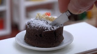 Video MiniFood Gateau au Chocolat 食べれるミニチュア ガトーショコラ MP3, 3GP, MP4, WEBM, AVI, FLV Mei 2017