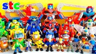 Coleccion de Juguetes Transformers Playskool Heroes Rescue Bots Collection