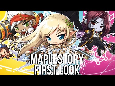 Maplestory (Free MMORPG): Watcha Playin'? Gameplay First Look 2014