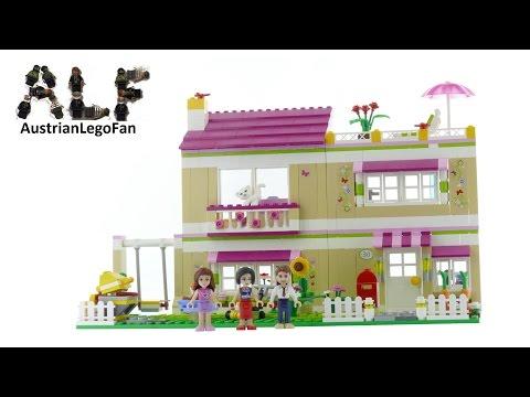 Vidéo LEGO Friends 3315 : La villa