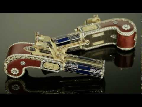 Singing-bird pistols that sold for $5.8 million. Absolutely incredible.