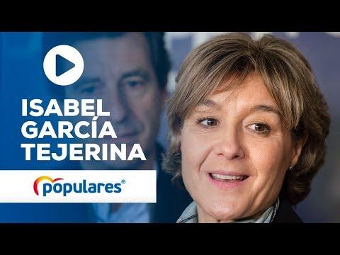 """García Tejerina denuncia la """"ambigüedad"""" del Ejecutivo """"con la falta de libertad en Venezuela"""""""