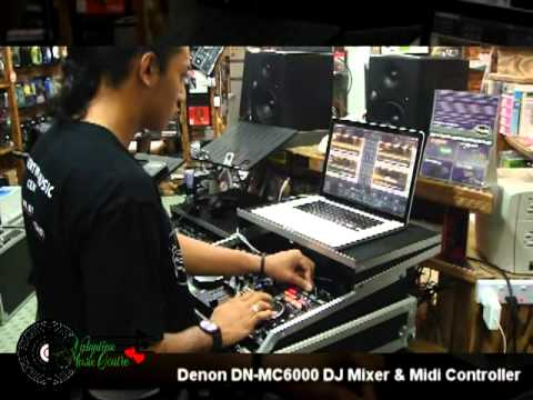 Denon DN-MC6000 DJ Mixer & Midi Controller