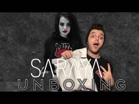HUGE SARAYA SHOP (PAIGE) UNBOXING!!!