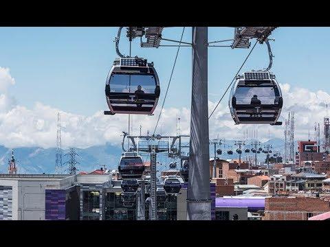 Operación: Red de Teleféricos Doppelmayr, Ciudad de La Paz, Bolivia