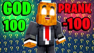 My Friends GHOST God Pranked Me in Minecraft
