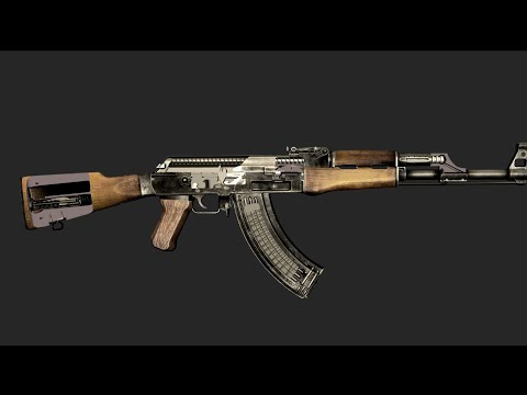 3D Animation: How a AK-47 works