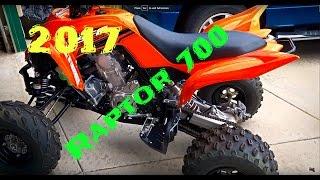 4. 2017 Yamaha Raptor 700