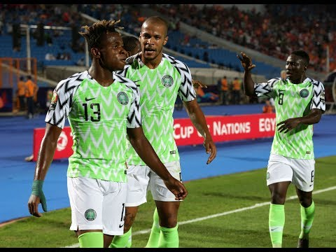 Nigeria V South Africa (2-1) - Total Afcon 2019 - Qf2