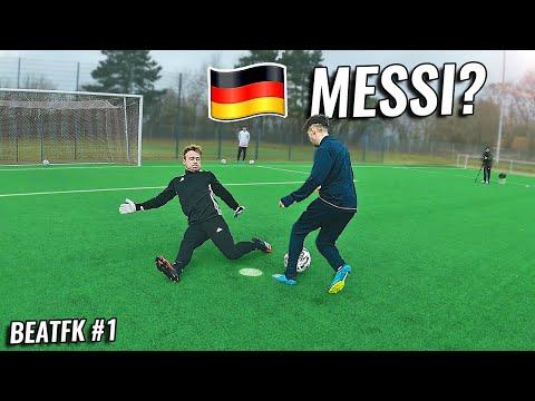 Dieser 16-Jährige könnte der Deutsche Messi werden | #BEATFK Ep.1