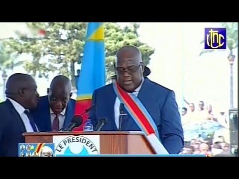 Demokratische Republik Kongo: Neuer Präsident Felix Tshisekedi vereidigt