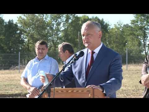 Президент Молдовы совершает рабочий визит на север страны