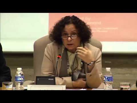 Ana Palacio presenta el informe de ECFR: China 3.0
