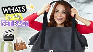 WHATS IN MY BAG?! (My Set Bag)   Rosanna Pansino