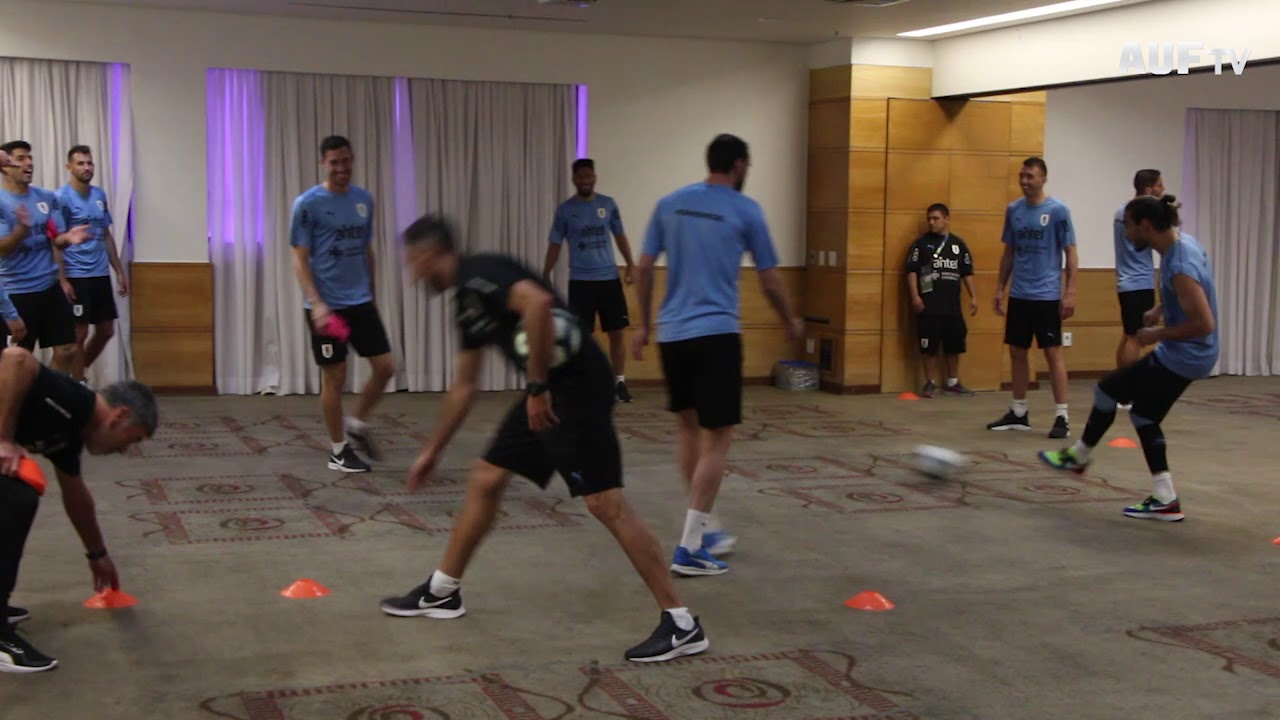 Activación en Belo Horizonte en la mañana del debut ante Ecuador