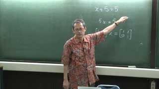 Kuliah Aljabar Linier (1)