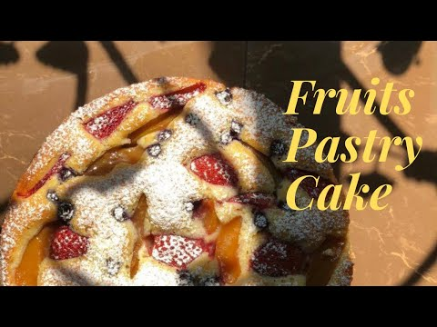How To Make Fruits Pastry Cake L Kek Viral