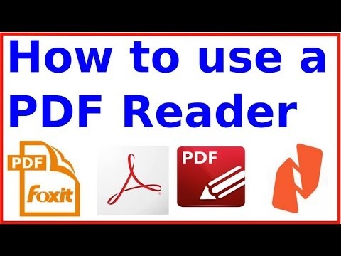 How To Use A PDF Reader Effectively - Explained With The Free  Foxit PDF Reader - 01