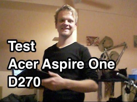 Test Acer Aspire One D270 Deutsch | Netbook Test Deutsch