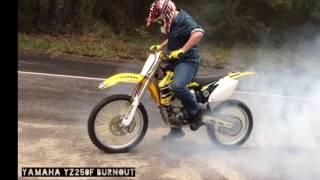 2. 2006 Yamaha Yz250f 50th Anniversary Edition - Burnout