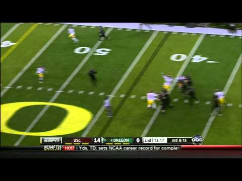 Hayes Pullard vs UCLA/Oregon 2011 video.