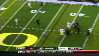 Hayes Pullard vs UCLA/Oregon (2011)