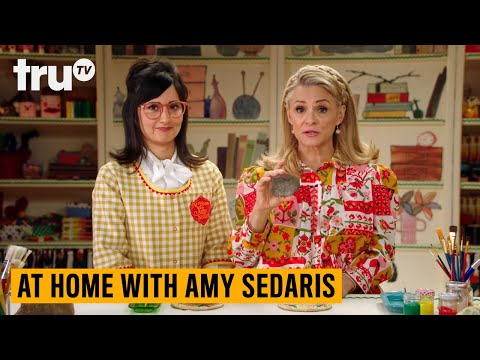 At Home With Amy Sedaris - Having Fun With Rocks (Clip) | truTV