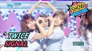 Video [Comeback Stage] TWICE - SIGNAL, 트와이스 - 시그널 Show Music core 20170520 MP3, 3GP, MP4, WEBM, AVI, FLV Mei 2017