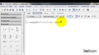 Como Graficar Funciones en Maple? =)