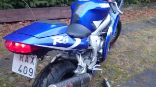 6. Yamaha YZF R6, 2000.