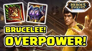 Video Brucelee di MOBA! Hero Overpower! Kece Banget! - Heroes Evolved Indonesia MP3, 3GP, MP4, WEBM, AVI, FLV Oktober 2017
