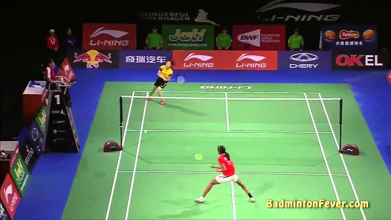 Badminton Highlights – P.V. Sindhu vs Wang Shixian – 2014 World Championships WS QF