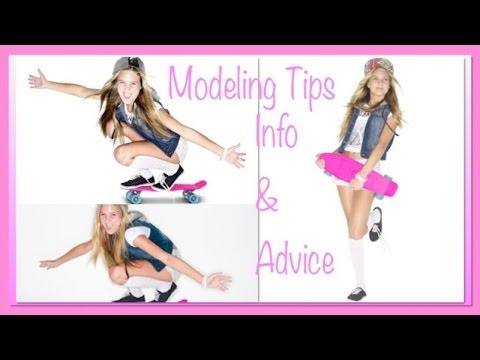 Modeling - If you're a teenager and have always wanted to become a model, here are some tips on How to become a model - all about modeling - tips, info and advice!!! Le...